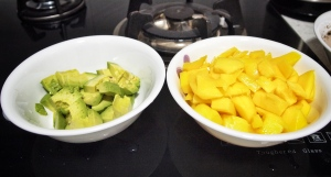 Avocados and mangoes