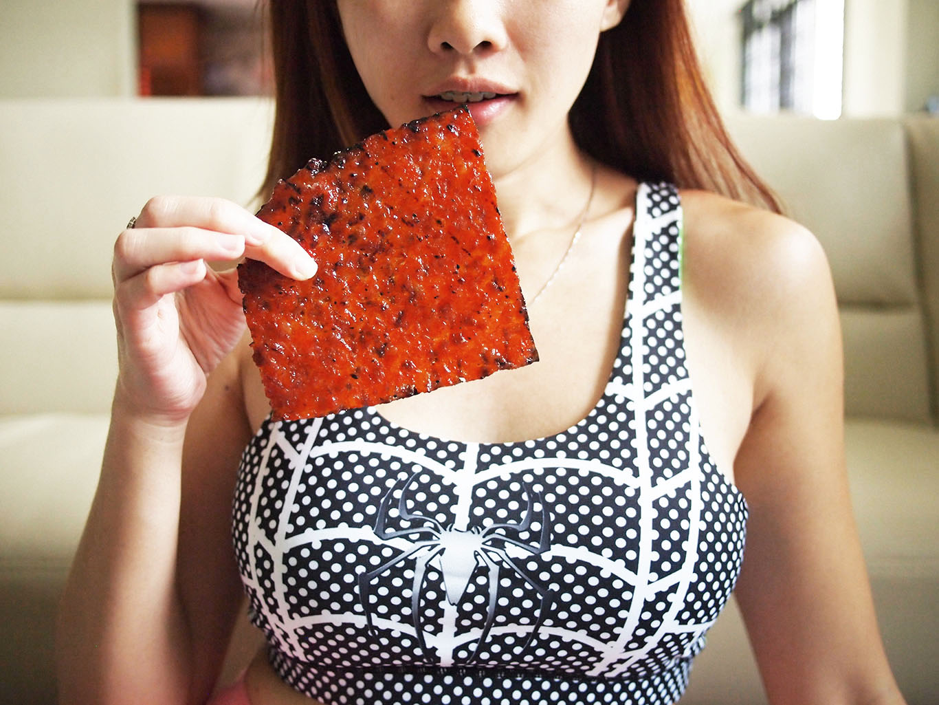 Cheryann and bak kwa