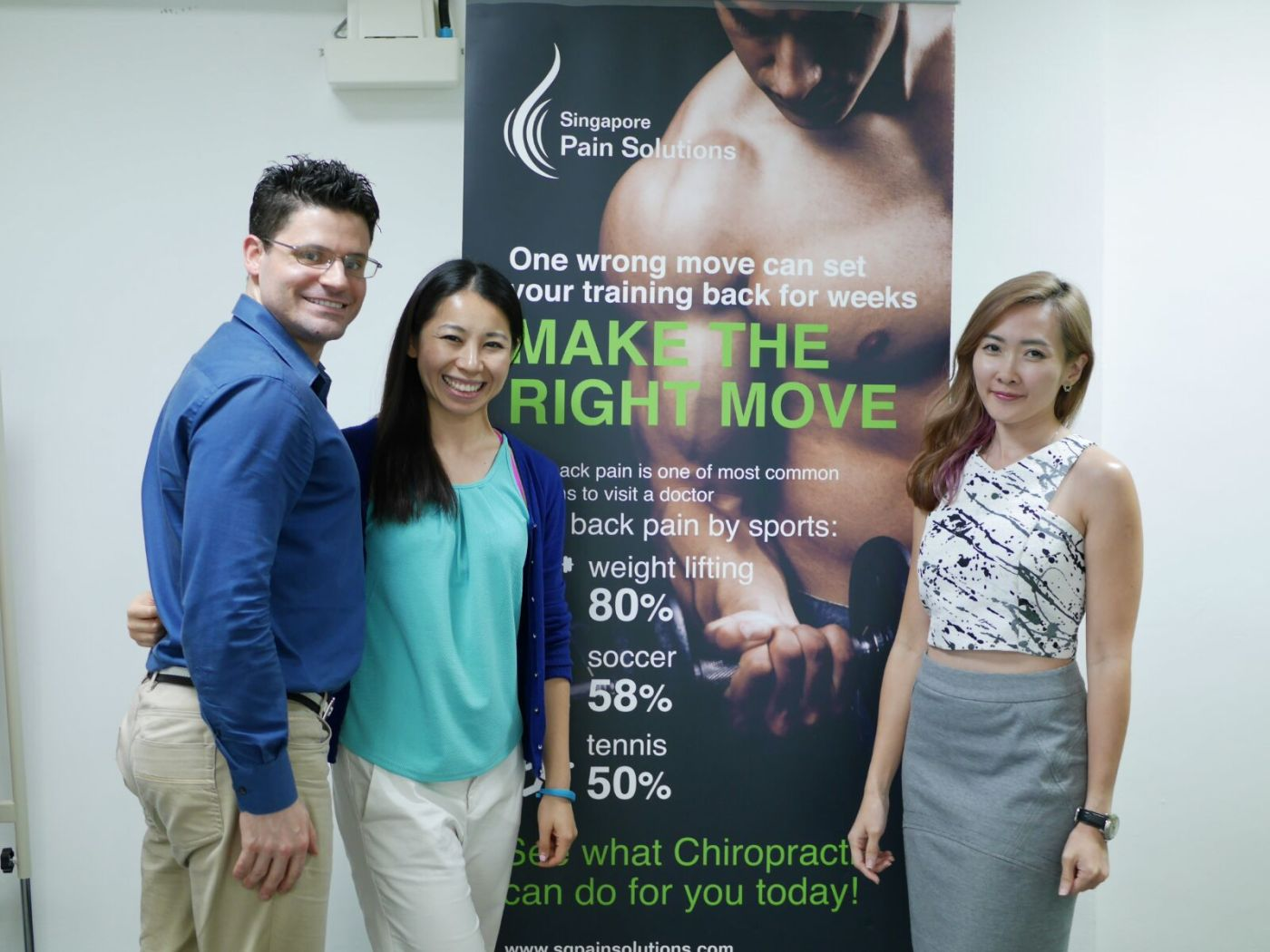 Singapore Pain Solutions Founders Dr Jeff Ederer and Dr Jenny Li